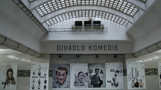 Divadlo Komedie v Praze.