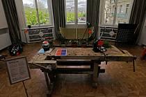 Knihovna věcí v Goethe Institutu.