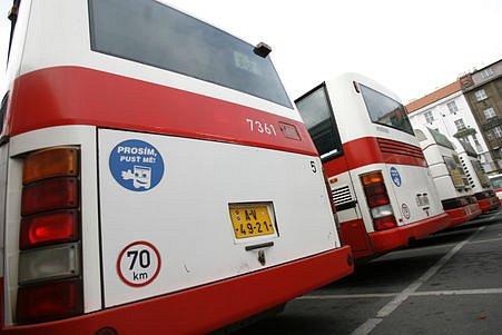 Autobusy MHD.