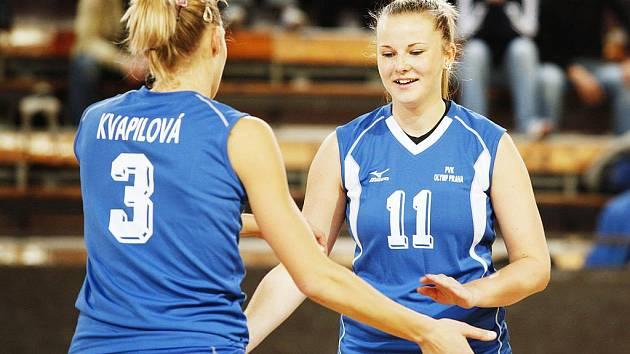 Opora Olympu Praha, česká reprezentatka Tereza Vanžurová