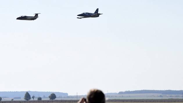 Letiště ve Vodochodech. Ilustrační foto.