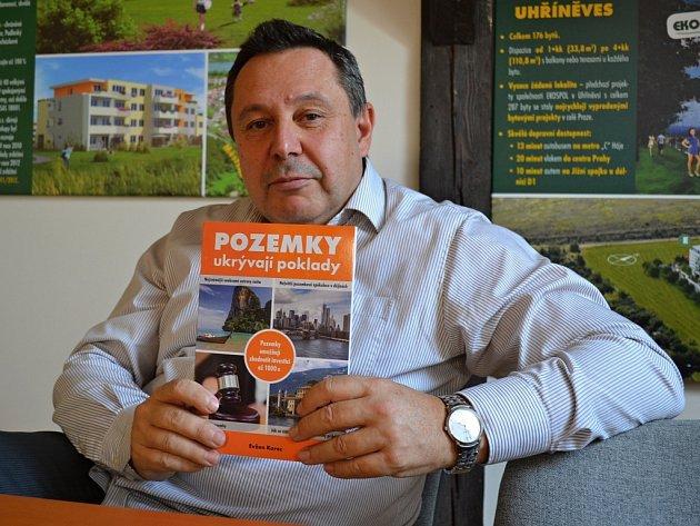 Pozemky ukrývají poklady - nová kniha spolumajitele a generálního ředitele společnosti Ekospol Evžena Korce.