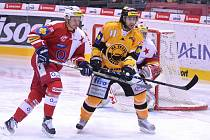 Hokejová Slavia Praha se po roce opět utká s Litvínovem. Právě na ledě úřadujících mistrů odstartují v úterý 29. března 2016 barážové bitvy.
