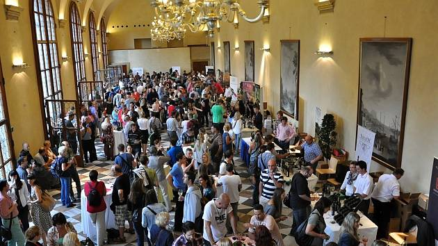 Vinobraní na Pražském hradě.