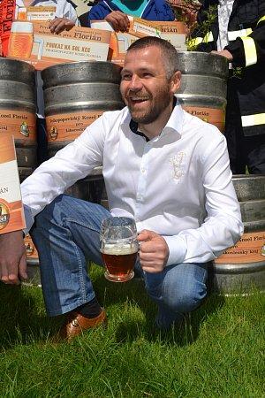 Obchodní sládek pivovaru Velkopopovický Kozel Vojtěch Homolka