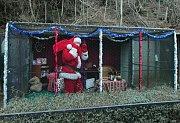 Santa Claus v Zoo Praha