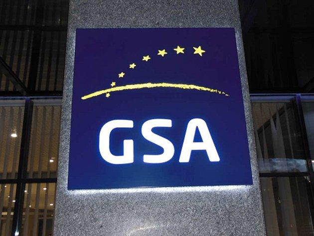 Sídlo Agentury pro evropský globální navigační satelitní systém GNSS ( GSA - - European Global Navigation Satellite Systems Agency ) v pražských Holešovicích.