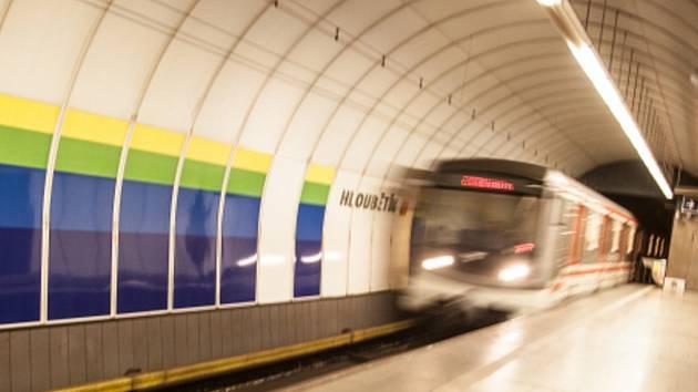 Stanice metra Hloubětín. Ilustrační foto.