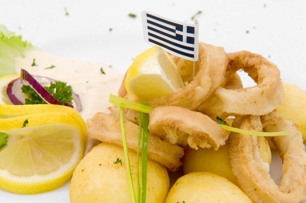 Fritované kalamáry
