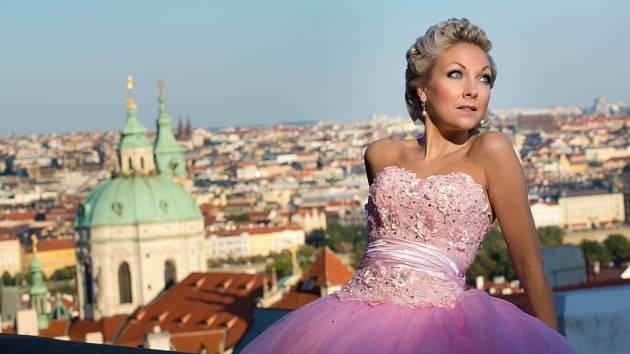 Britská sopranistka Christina Johnston