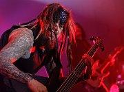 Koncert americké kapely Korn  v pražském  Forum Karlín.