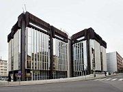 Komplex budov Transgasu na Vinohradské třídě.