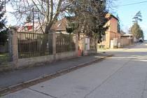 Přepadení na ulici v Horních Počernicích - místo činu.