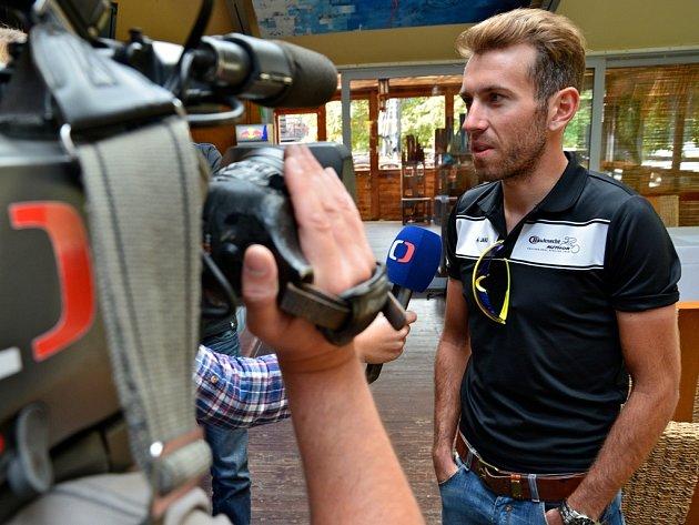 MEZI česká želízka na Tour Bohemia 2013 lze zařadit i cyklistu Františka Paďoura.