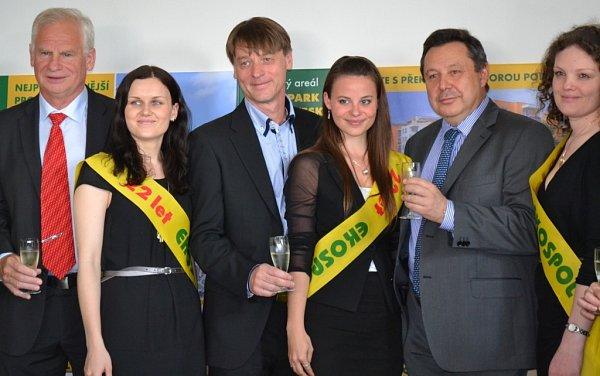 Generální ředitel společnosti Ekospol Evžen Korec (vpravo).