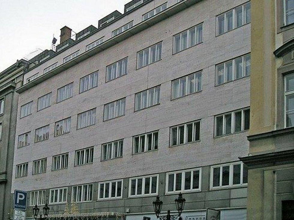 Palác Broadway v Praze po rekonstrukci v roce 2014.