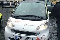 První elektromobil k testování pro potřeby pražského magistrátu.
