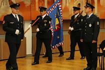 Slavnostní přísaha nových policistů.