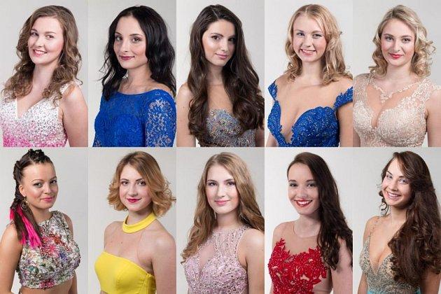 Finalistky Miss Agro 2018.