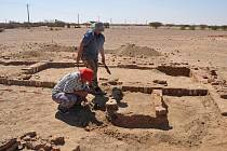 Česká archeologická expedice se v oblasti Wad Ben Naga věnovala mimo jiné vykopávkám Malého chrámu, jenž je součástí komplexu ze 4. století př. n. l.