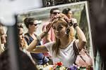 Dyzajn market festival probíhal 1. srpna na pražském Střeleckém ostrově.