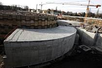 Podle primátora Prahy Pavla Béma nejsou v důsledku krize však ohroženy klíčové stavby pro rozvoj metropole, například tunelový komplex Blanka (na snímku), který je součástí projektu na odlehčení dopravy ve městě.