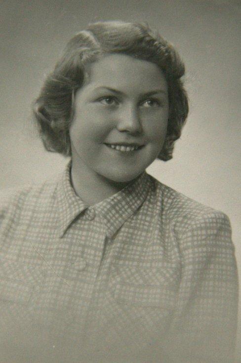 Eva Sachselová v roce 1946.