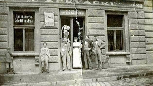 Restaurace U Zpěváčků.