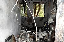 V objektu areálu studií rozhlasu v Jeseninově ulici hořelo na konci září 2017.