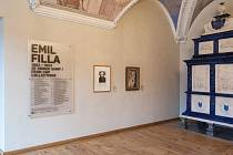 Výstava Emila Filly.