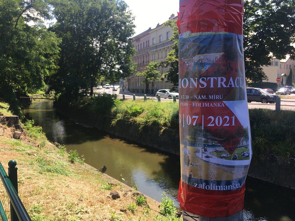 V parku Folimanka má vzniknout volnočasový areál, proti kterému občané iniciovali petici i demonstraci.