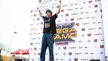 Richard Zelinka je mistrem světa na koloběžce.