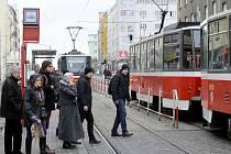 Podle listopadového průzkumu svezou tramvaje ve všední den 1 069 863 lidí.