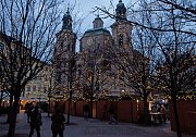 Vánoční osvětlení - Staroměstské náměstí a Pařížská ulice.
