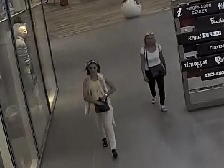Dvě ženy jsou podezřelé z krádeže peněženky v pražském nákupním centru.