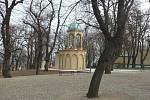 Kaple Božího hrobu na Petříně po rekonstrukci.