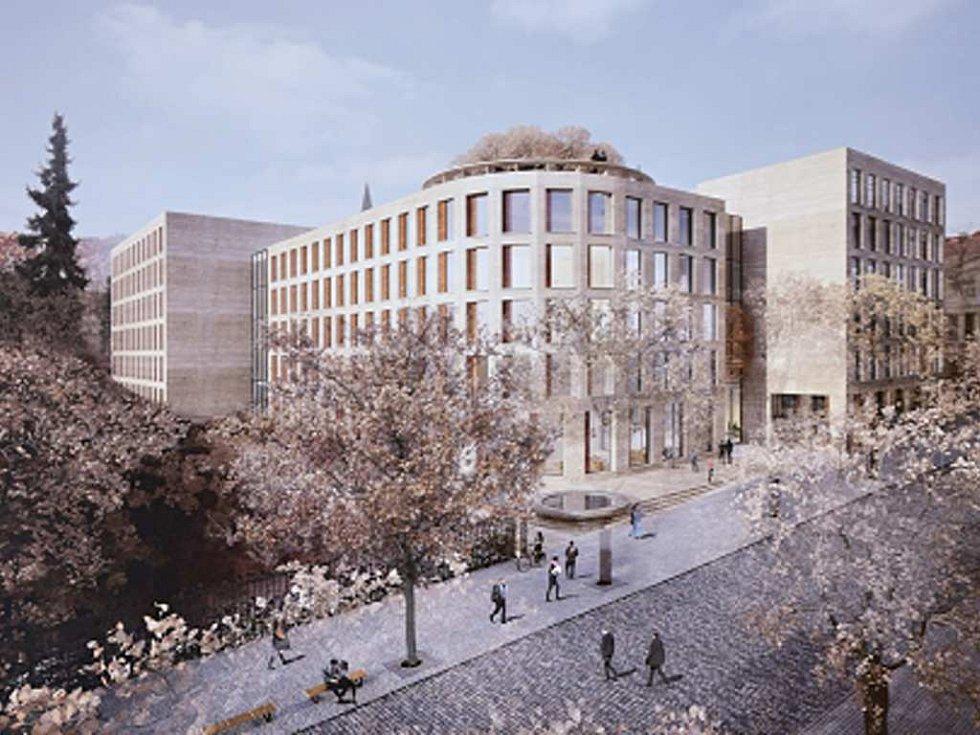 Vítězný návrh Kampusu Albertov od studia Znamení čtyř – architekti