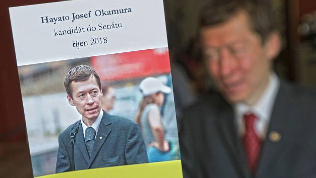 Hayato Okamura kandiduje do senátu za KDU-ČSL.