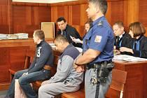 Obžalovaní z krádeže sbírkových předmětů a obrazů Emila Filly u Vrchního soudu.