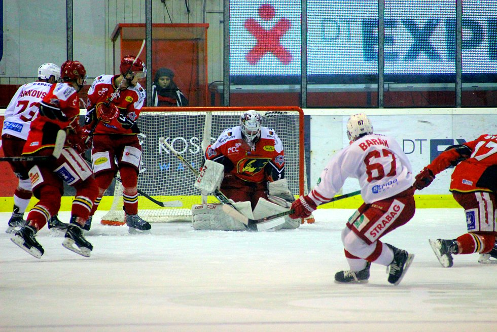 Slavia Praha - Jestřábi Prostějov, 29. kolo WSM ligy, hokej, autor: Michal Sedlák