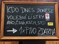 Tabule v Roztokách u Prahy.