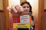 Pražský magistrát (krizový štáb)v rámci středečního cvičení blackout