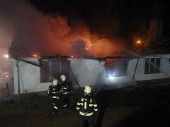 Požár v Benešově