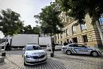Výstava Sluneční králové - Do historické budovy Národního muzea v Praze dorazily 14. srpna 2020 pod dozorem policie exponáty na výstavu Sluneční králové. Jde o předměty, které nalezli čeští egyptologové v lokalitě Abúsír. Výstava začne koncem srpna a potr