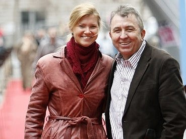 Šťastná Kadri Kousaar s Fero Feničem.