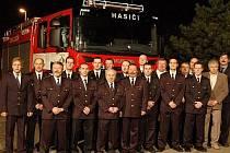 Jednotka dobrovolných hasičů ze Zličína.