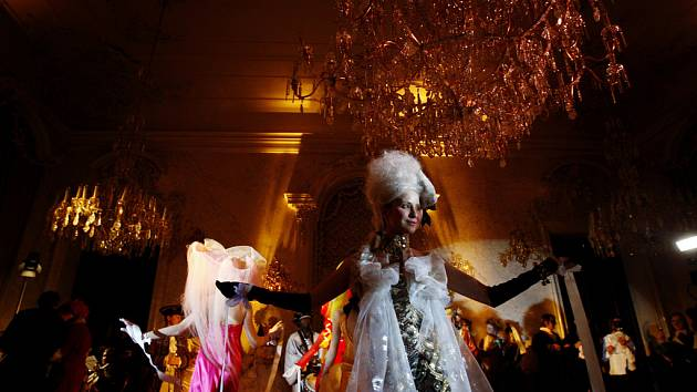 Bellaria, stylová karnevalová rokoková party, proběhla v rámci letošního Bohemian Carnevale 14. února v pražském Clam-Gallasově paláci.