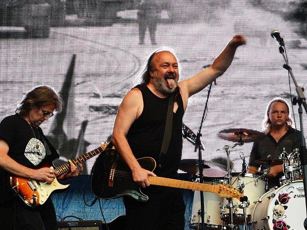Frontman kapely Folimanka Blues Ladislav Jakl.
