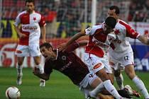 Slavia pokořila na podzim svého letitého soupeře 2:0, prolomila tak 14letou kletbu Letné.