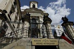 Křest medailí Anthropoid v Chrámu sv. Cyrila a Metoděje - Národní památník hrdinů heydrichiády.